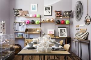 Vue de la boutique Metropolitan à Montpellier pour Elle Déco