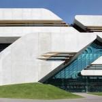 Archives Départementales Montpellier Zaha Hadid