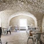 Salle de restaurant du Mas Merlet à Nîmes