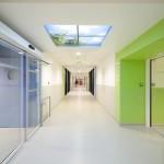 Couloir Extension du CHU Lapeyronie à Montpellier