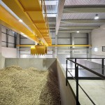 Détail intérieur Chaufferie Biomasse Parc Marianne Montpellier