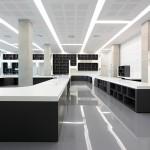 Salle de lecture Pierres Vives Zaha Hadid Stéphane Hof