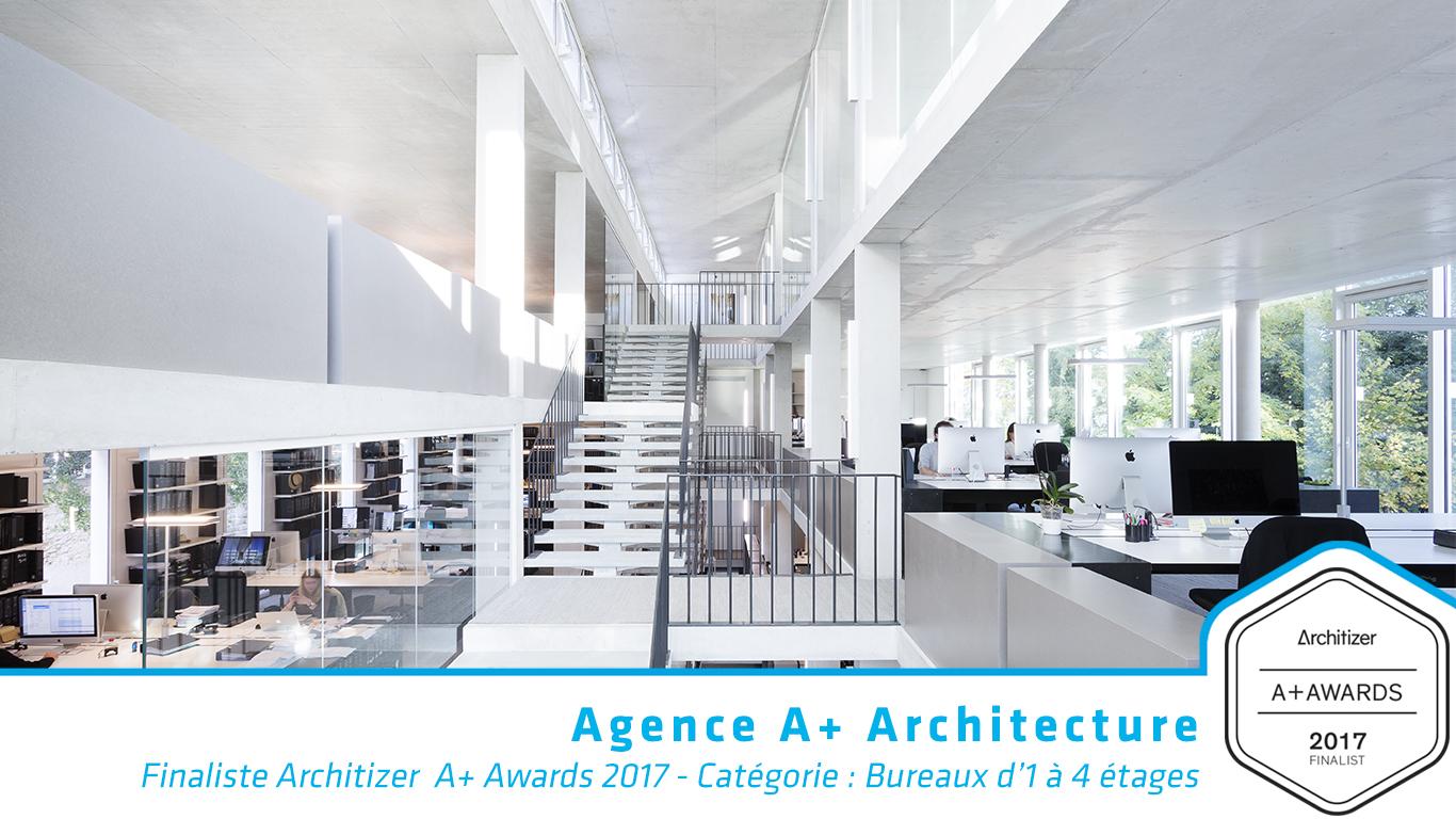 A+Architecture Architizer Finaliste bureau
