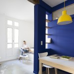 appartement réhabilité par l'agence d'architecture Damien Vieillevigne DVA